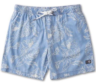 Doom Elastic Walkshort Bottoms RVCA Blue S