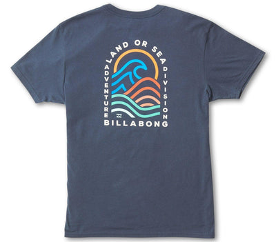 Transition Tee - Navy Tops Billabong Navy S