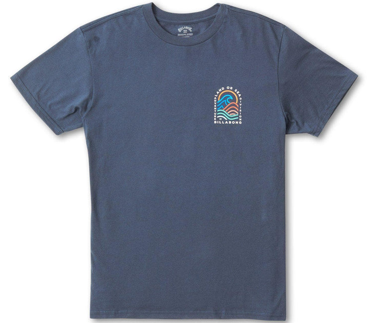 Transition Tee - Navy Tops Billabong