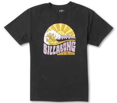 Ridge Tee - Black Tops Billabong Black S