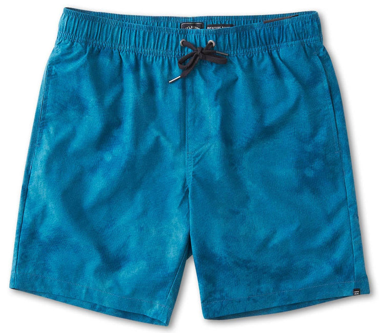 Surtrek Perf Elastic Walkshorts - Teal Tie Dye Bottoms Billabong Dark Teal Tie Dye S