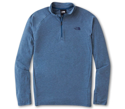 Wander 1/4 Zip Pullover - Monterey Blue Outerwear The North Face Monterey Blue S
