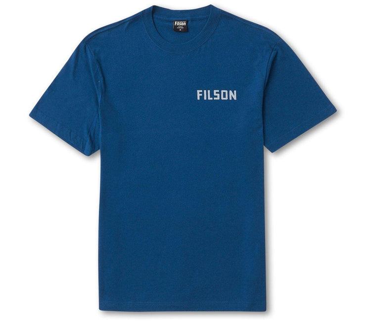 Filson Ranger Tee - Mountain Blue Tops Filson