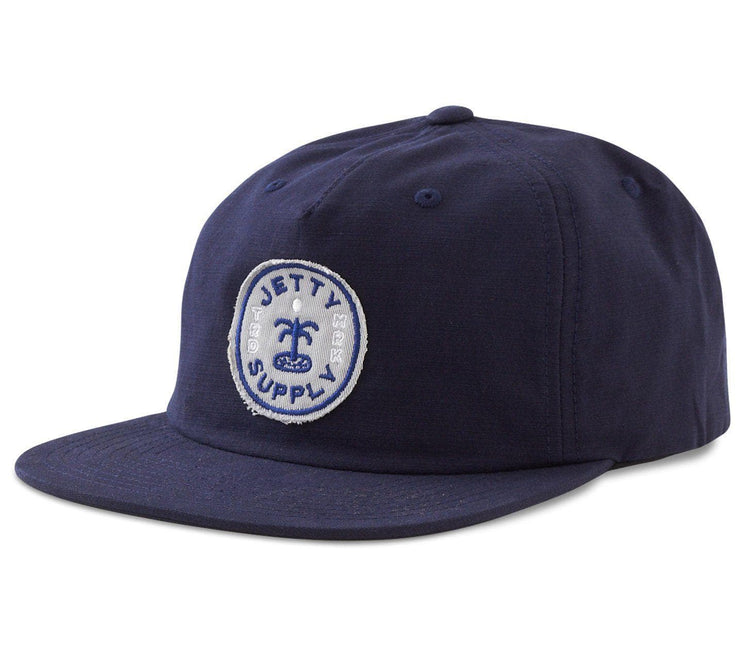 Oasis Snapback Hat - Navy Headwear Jetty Navy
