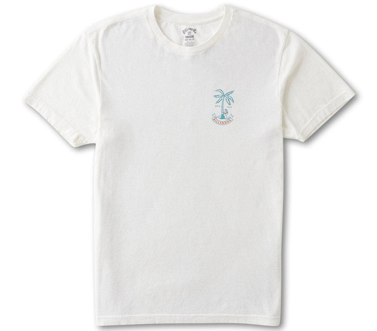 Lady Palm Tee - Off White Tops Billabong