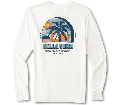 Marakesh Long Sleeve Tee - Off White Tops Billabong