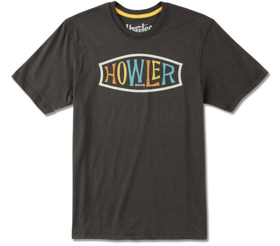 Endless Howler Tee - Antique Black Tops Howler Bros Antique Black S