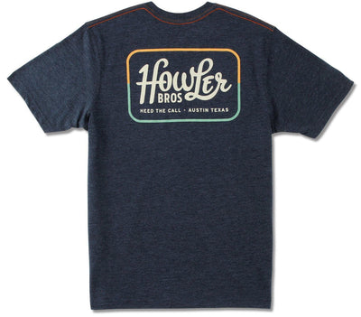 Howler Classic Pocket T-Shirt - Navy Tops Howler Bros Navy S