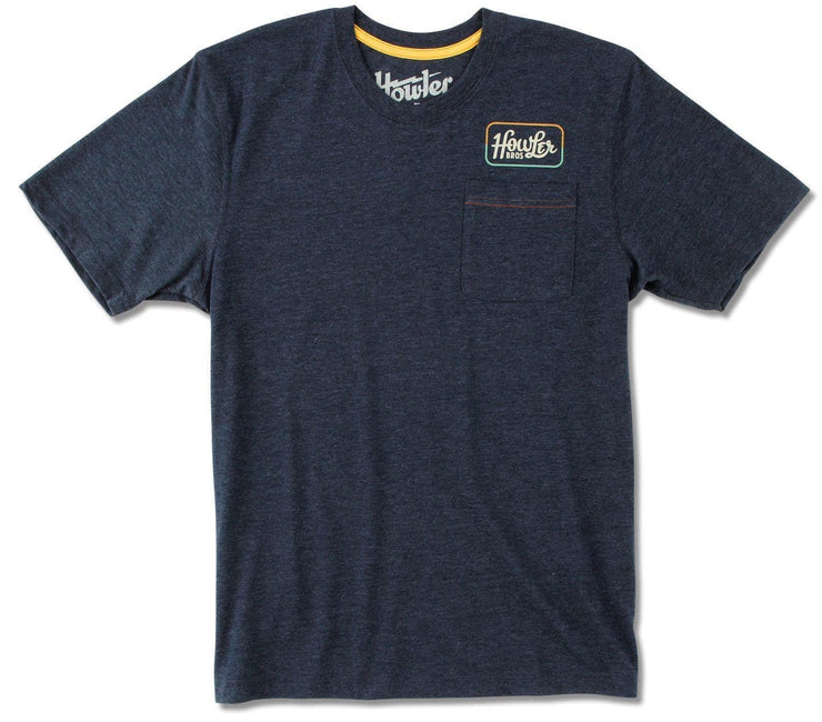 Howler Classic Pocket T-Shirt - Navy Tops Howler Bros