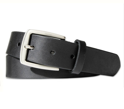 BOULDIN Belt - Horween Black Leather Accessories BOULDIN Black 32