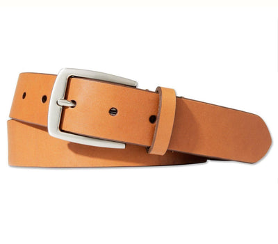 BOULDIN Belt - Horween Tan Leather Accessories BOULDIN