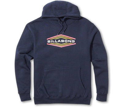 Walled Fleece Hoodie Outerwear Billabong Navy S
