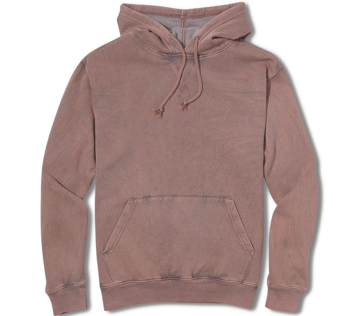 Mineral Fleece Hoodie - Dark Clay Outerwear Katin Dark Clay S