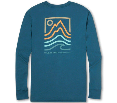 Peak Long Sleeve Tee Tops Billabong Pacific S