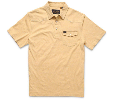 Ranchero Polo - Sunflower Heather Tops Howler Bros Sunflower Heather S