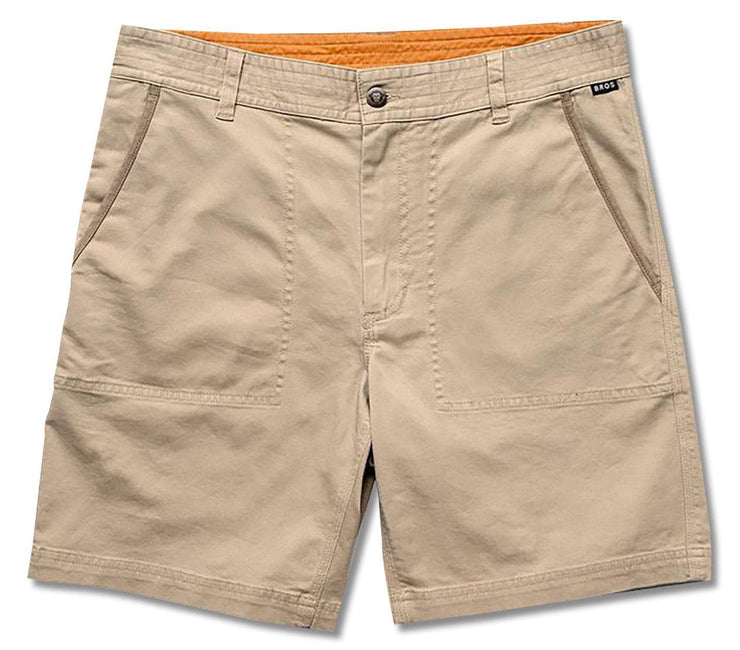 Clarksville Walk Shorts - Khaki Bottoms Howler Bros Khaki 30