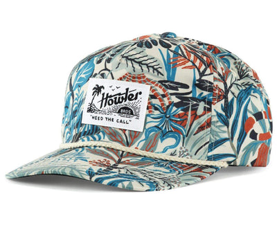 Everglades Print Unstructured Snapback Hat Headwear Howler Bros Off White