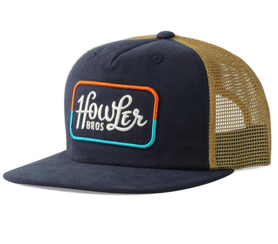 Howler Classic Snapback Hat Headwear Howler Bros Navy/Old Gold