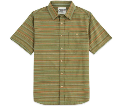 Horizon Short Sleeve Shirt - Olive Tops Mountain Khakis Olive S