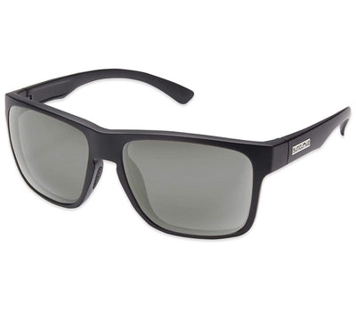 Rambler Sunglasses - Matte Black/Gray, Polarized Accessories Suncloud Matte Black/Gray