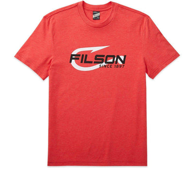 Buckshot Graphic T-Shirt Tops Filson Mackinaw Red S