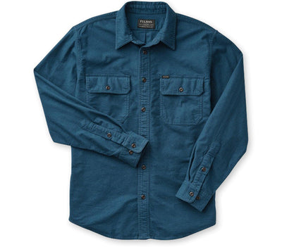 Field Flannel - Legion Blue Tops Filson Legion Blue M
