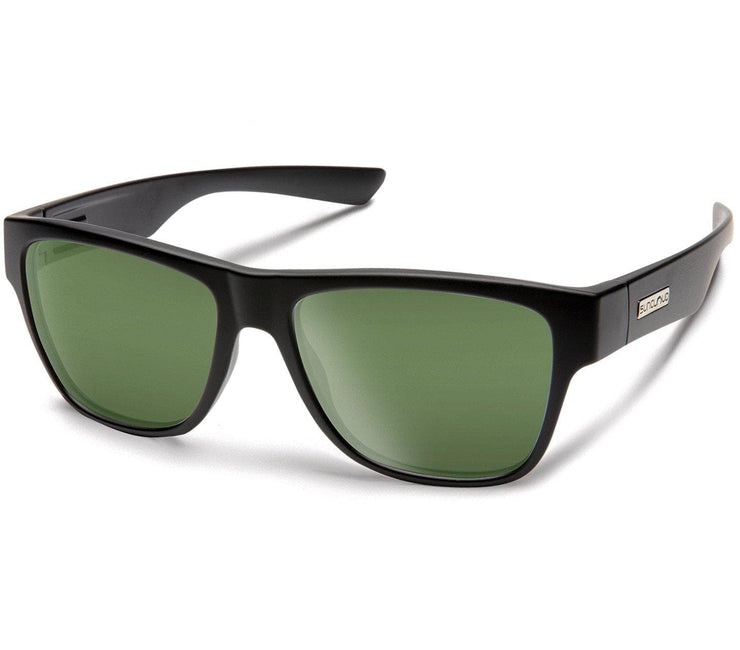 Redondo - Matte Black, Polarized Gray Green Accessories Suncloud Matte Black, Polarized Gray Green