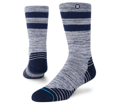 Camper Merino Wool Blend Hiking Sock - Navy Accessories Stance Navy 9-13