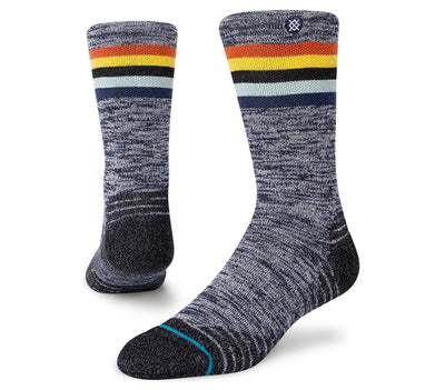 Mikol Merino Wool Blend Hiking Sock - Grey Accessories Stance Grey 9-13