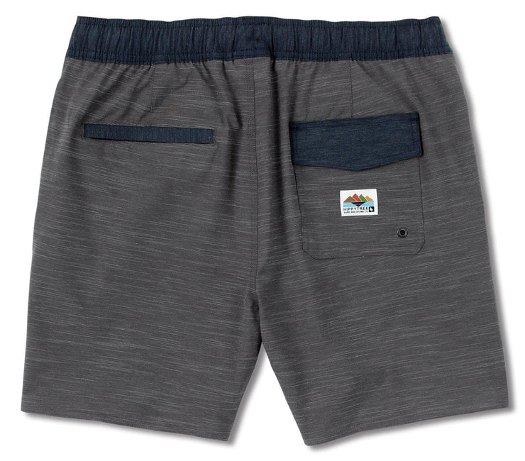Mead Hybrid Short - Charcoal Bottoms HippyTree