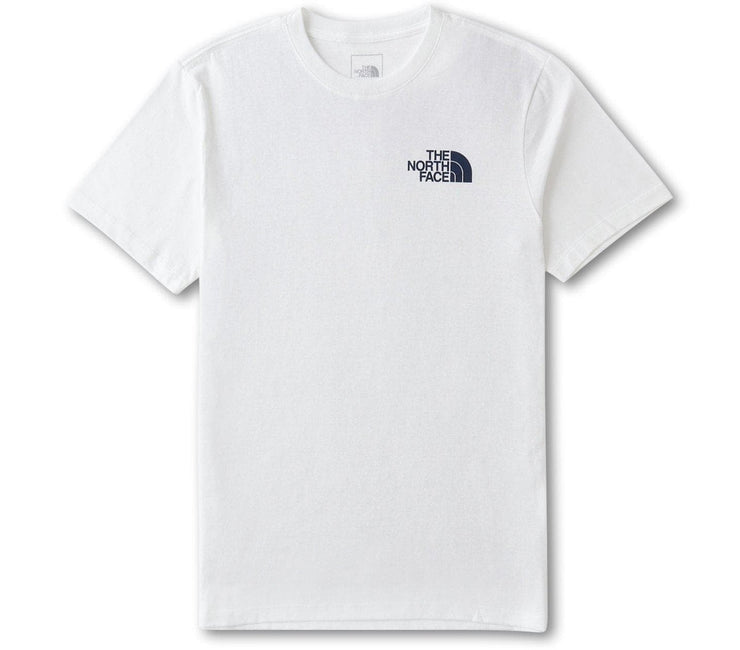 Hiker Evolution Tee - White Tops The North Face