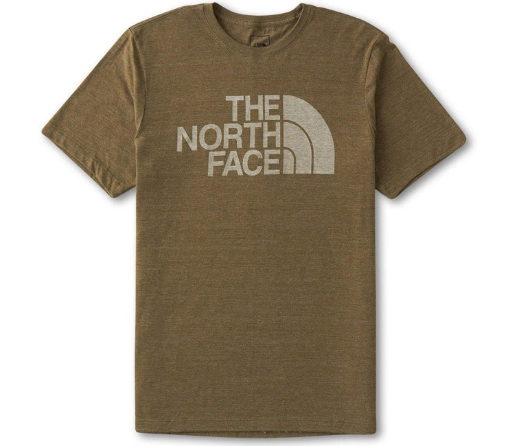 Half Dome Tri-Blend Tee - Military Olive Tops The North Face Military Olive S