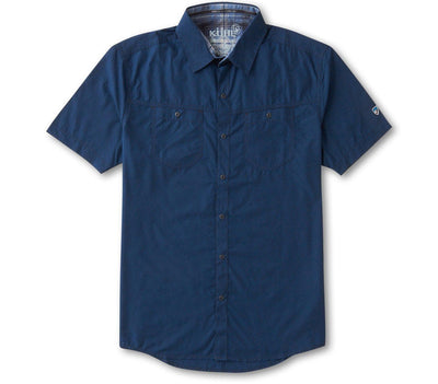 Stealth Short Sleeve Shirt - Blue Depths Tops KUHL Blue Depths S