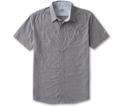 Karib Short Sleeve Shirt - Storm Grey Tops KUHL Storm Grey S