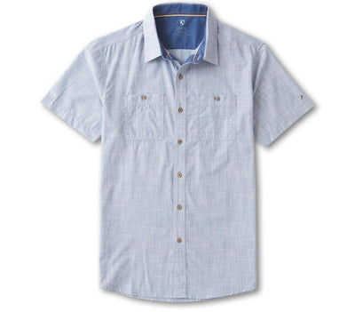 Karib Short Sleeve Shirt - Horizon Blue Tops KUHL Horizon Blue S
