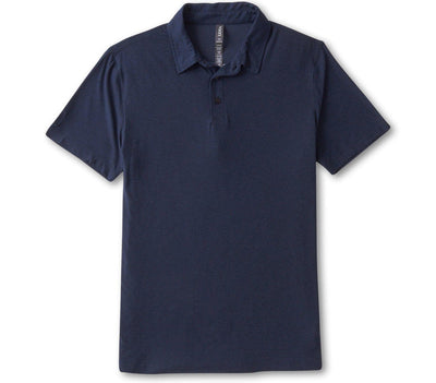 Strato Tech Polo - Navy Heather Tops Vuori Navy Heather S