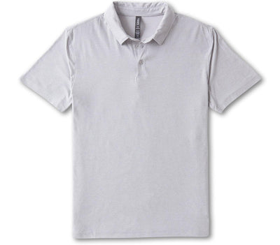 Strato Tech Polo - Platinum Heather Tops Vuori Platinum Heather S