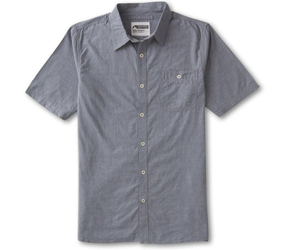 Chambray Short Sleeve Shirt - Dusk Tops Mountain Khakis Dusk S