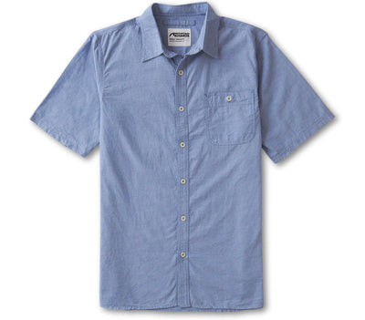 Chambray Short Sleeve Shirt - Stellar Tops Mountain Khakis