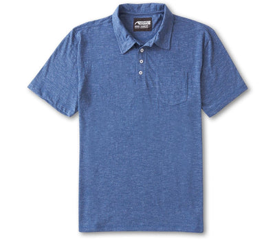 Bleeker Polo - Blue Ridge Tops Mountain Khakis Blue Ridge S