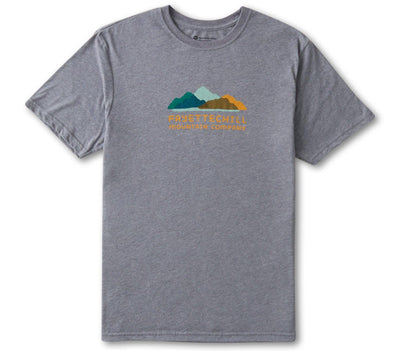 Reverb Tee - Heather Grey Tops Fayettechill Heather Grey S