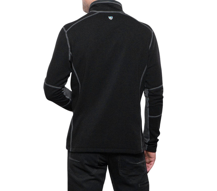 Revel 1/4 Zip Sweater - Black/Steel Outerwear KUHL