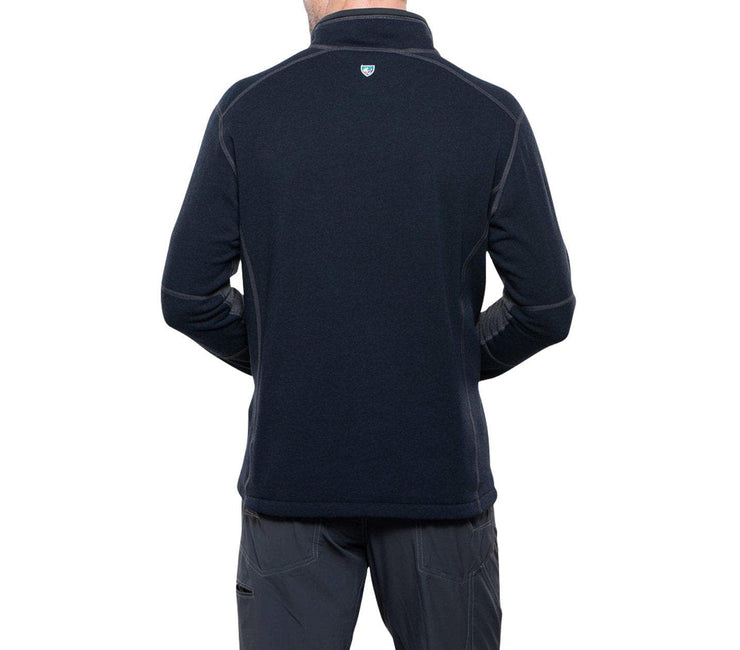 Revel 1/4 Zip Sweater - Mutiny Blue/Steel Outerwear KUHL