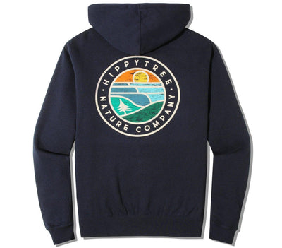 Waveform Hoody Outerwear HippyTree Navy S