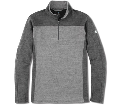 Ryzer 1/4 Zip Pullover - Carbon Outerwear KUHL Carbon S