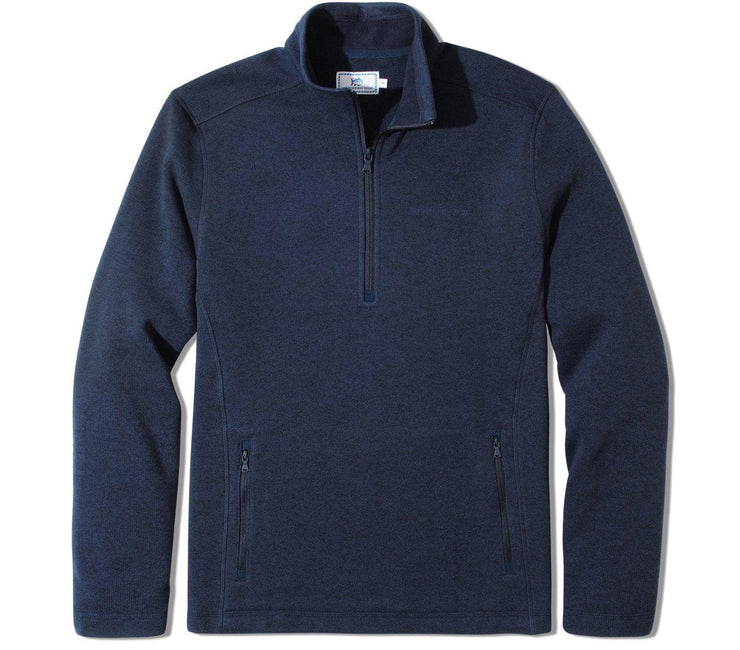 Sweater Fleece Quarter Zip - Navy Outerwear Southern Tide Navy M