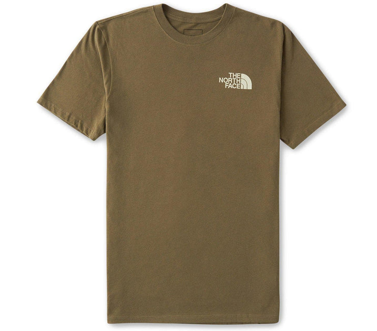 Simple Dome Tee - Burnt Olive Tops The North Face Burnt Olive S