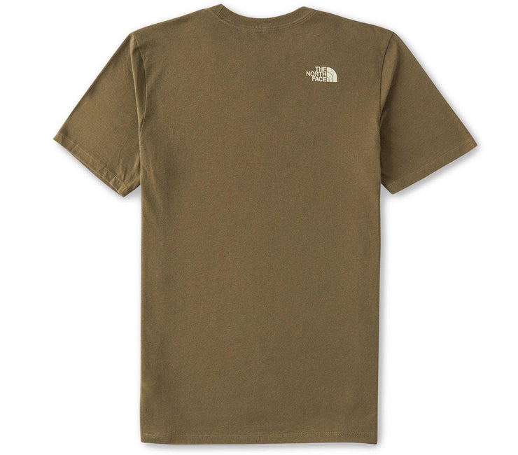 Simple Dome Tee - Burnt Olive Tops The North Face