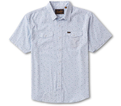 H Bar B Snapshirt - Little Agave Tops Howler Bros Ice Blue S