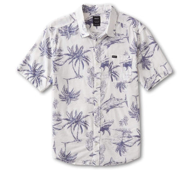 Panic Point Shirt - Antique White Tops RVCA Antique White S